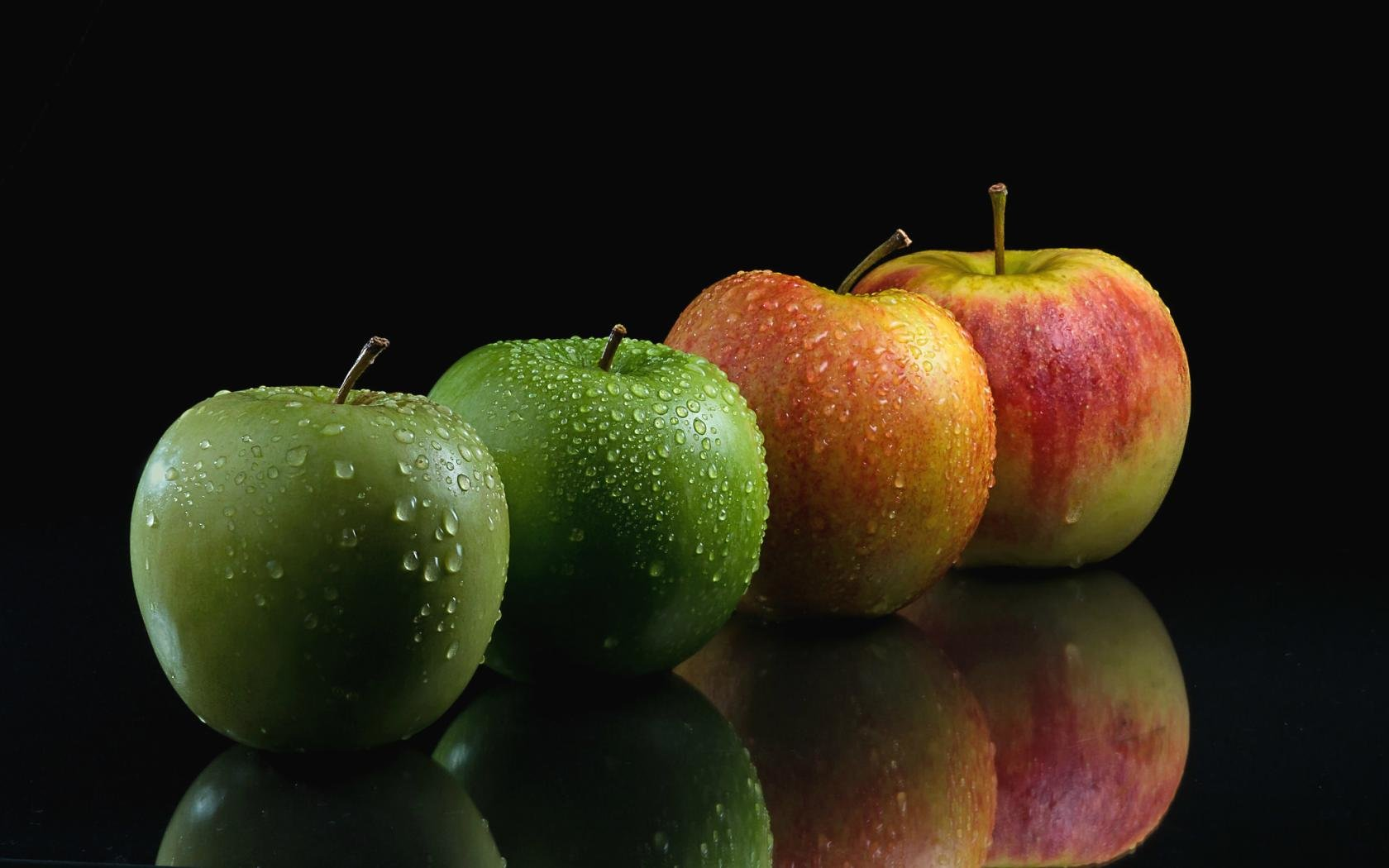 High resolution Apple fruit hd 1680x1050 wallpaper ID:296069 for desktop