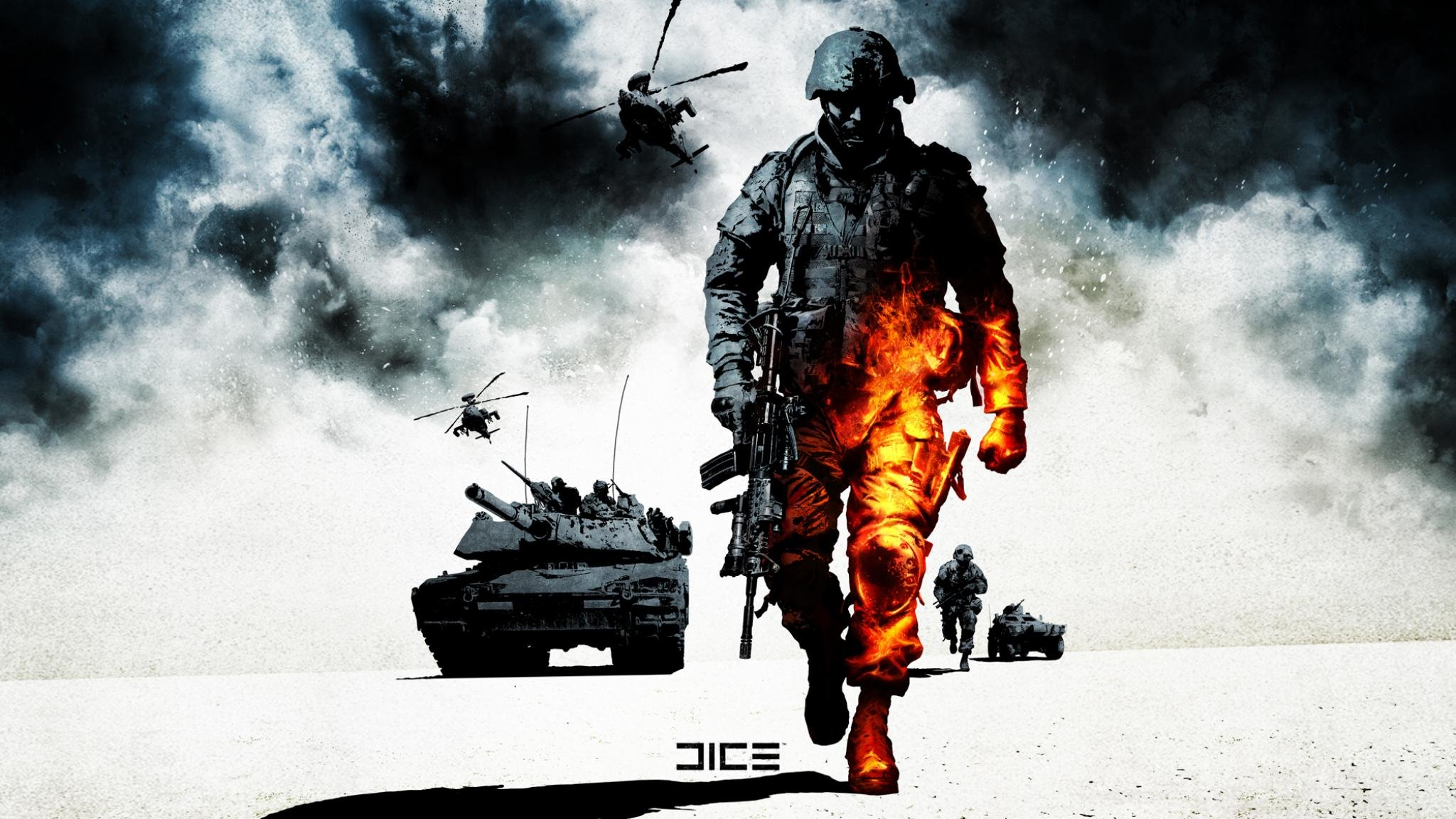 Free download Battlefield: Bad Company 2 background ID:498227 hd 2048x1152 for PC