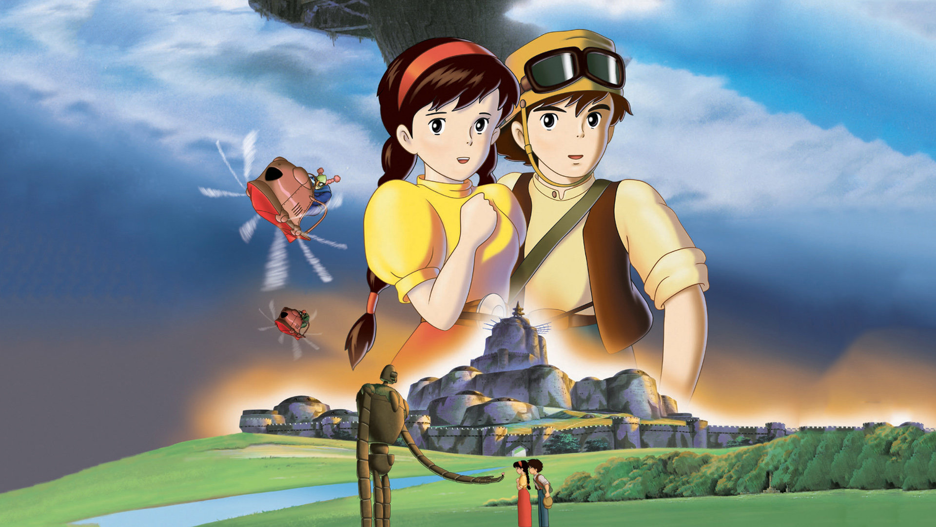 Download full hd Laputa: Castle In The Sky PC wallpaper ID:186135 for free