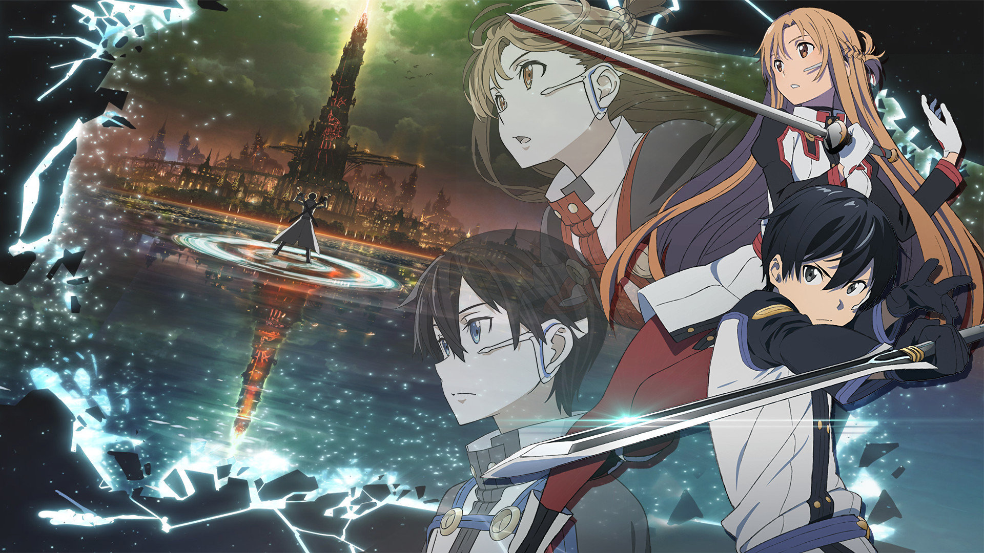 Best Sword Art Online Movie: Ordinal Scale background ID:243192 for High Resolution 1080p desktop