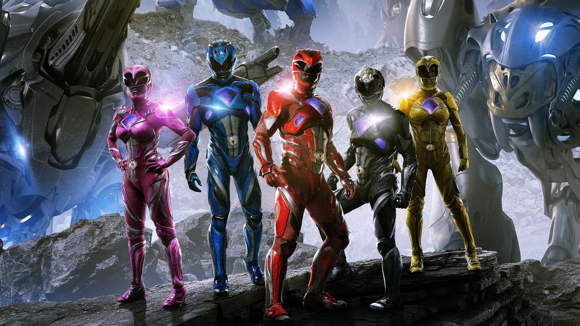 Awesome Power Rangers (2017) movie free wallpaper ID:110612 for full hd 1920x1080 PC