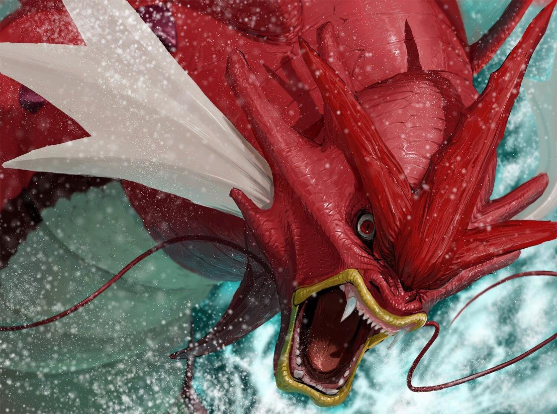 Free download Gyarados (Pokemon) wallpaper ID:279010 hd 1120x832 for computer
