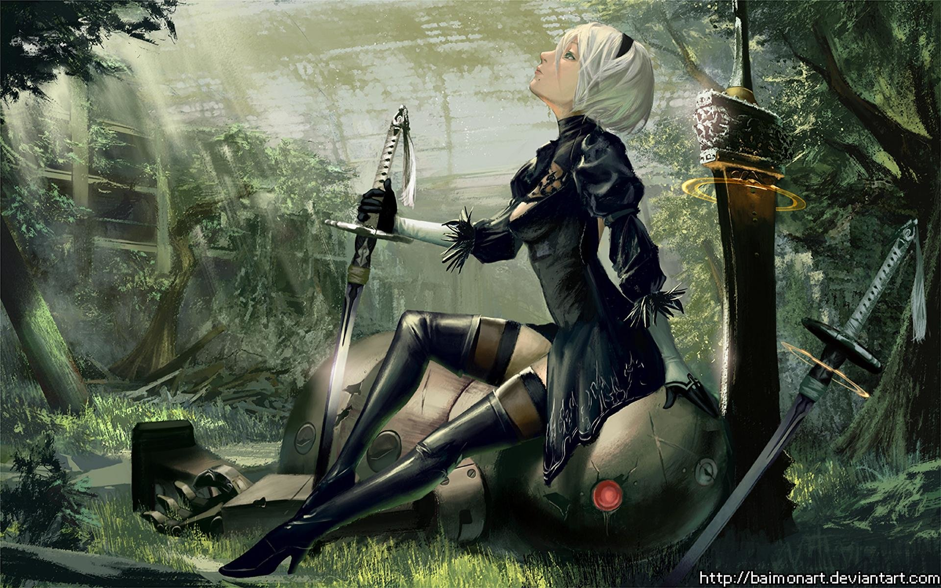 Nier Automata Wallpapers Or Desktop Backgrounds: Best NieR: Automata Wallpaper ID:449058 For High