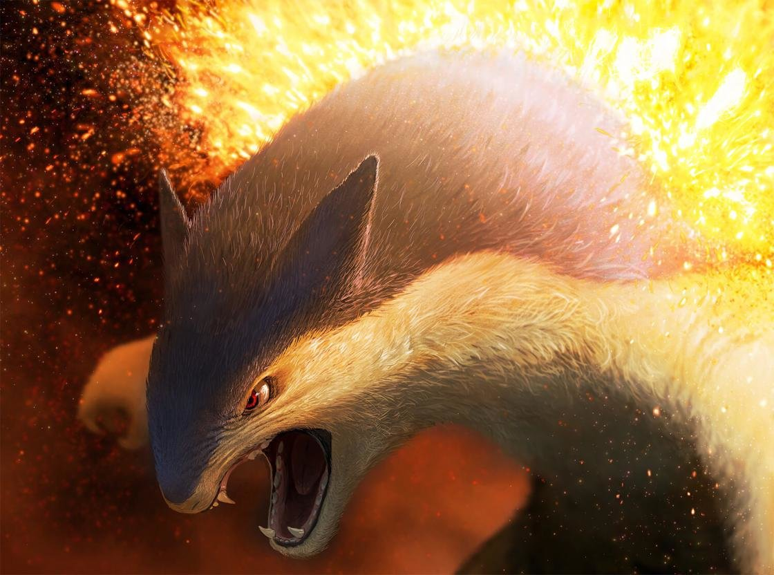 High resolution Typhlosion (Pokemon) hd 1120x832 wallpaper ID:279180 for PC