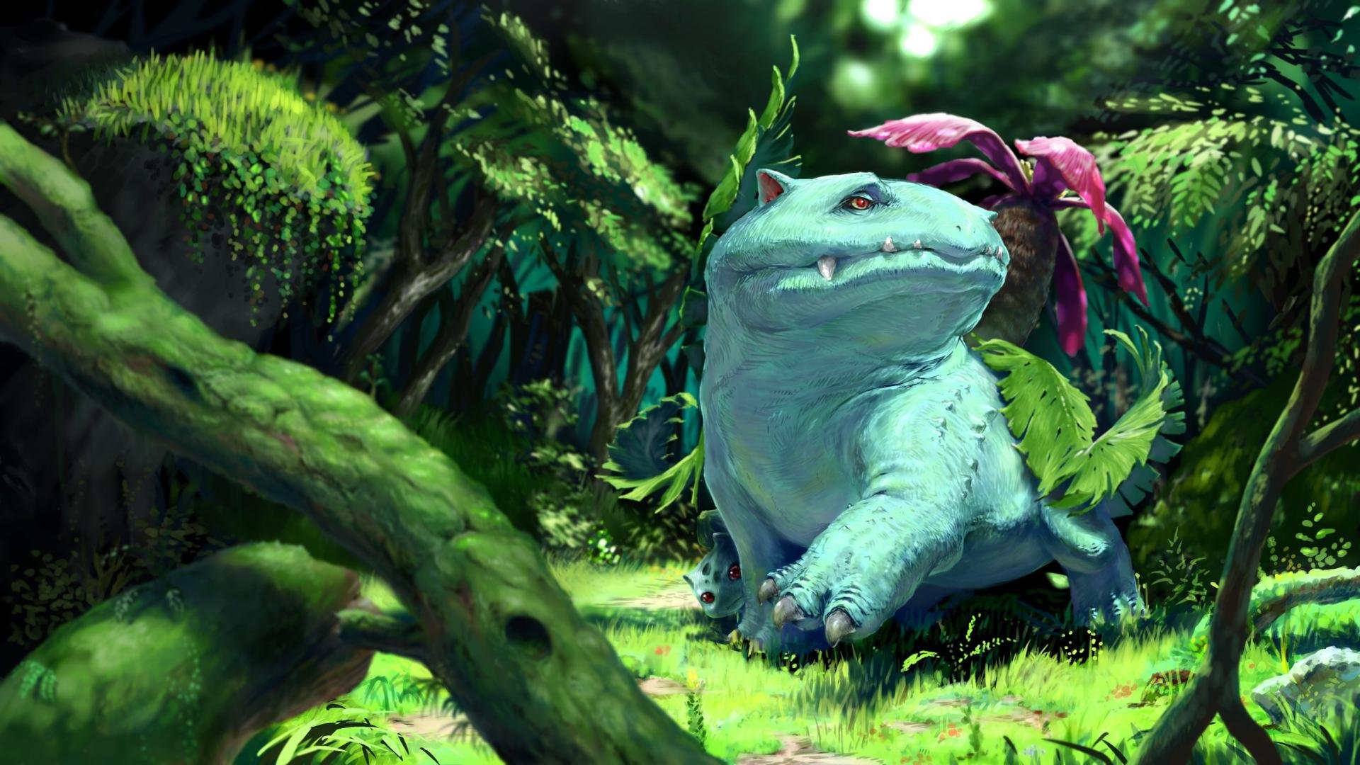 Download hd 1920x1080 Venusaur (Pokemon) PC background ID:278816 for free