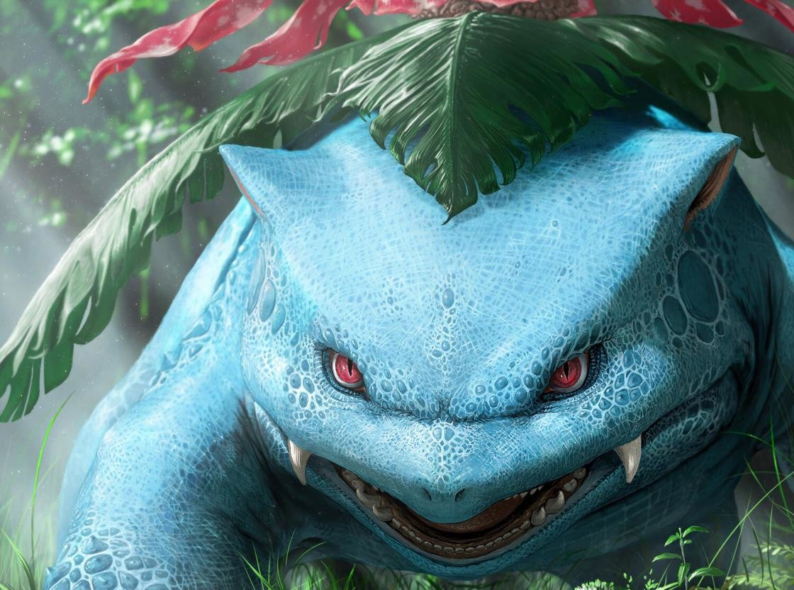Free download Venusaur (Pokemon) wallpaper ID:278903 hd 1120x832 for PC