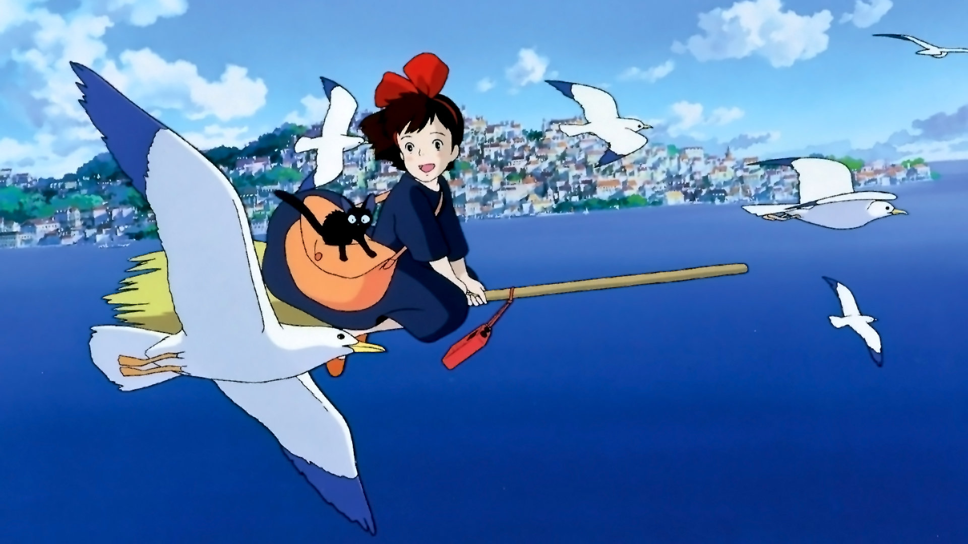 High resolution Kiki's Delivery Service full hd 1920x1080 wallpaper ID:360373 for computer