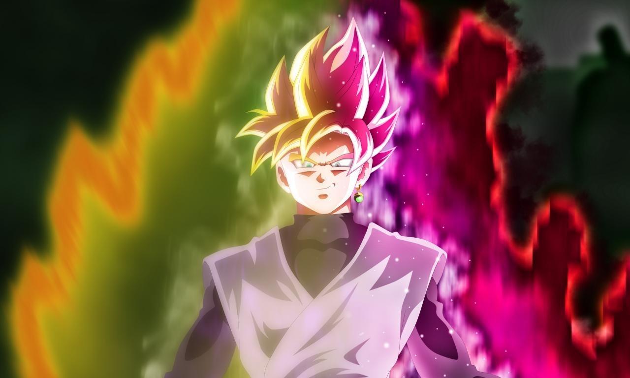 Super Saiyan Rose Wallpaper Hd: Black Goku Wallpapers HD For Desktop Backgrounds