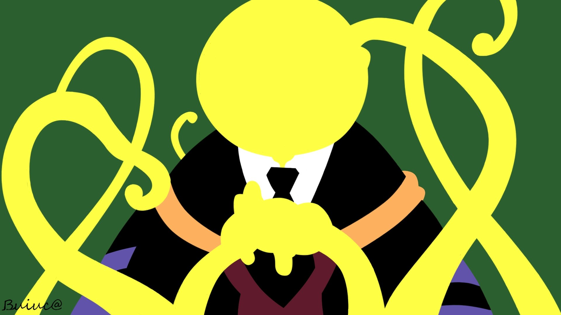 Best Koro-sensei wallpaper ID:275192 for High Resolution full hd PC