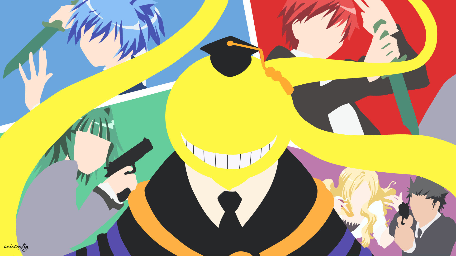 Download hd 1080p Koro-sensei computer wallpaper ID:275191 for free