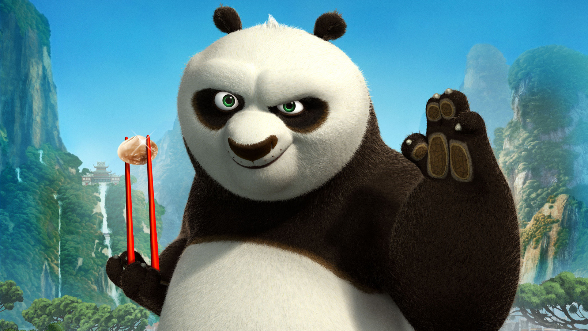 kung fu panda 2 wallpapers 1920x1080 full hd (1080p) desktop backgrounds