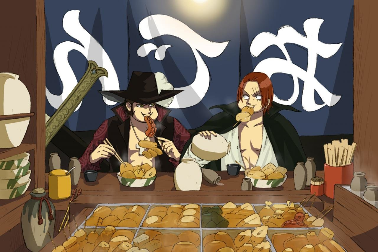 Free download Shanks (One Piece) background ID:314876 hd 1280x854 for PC
