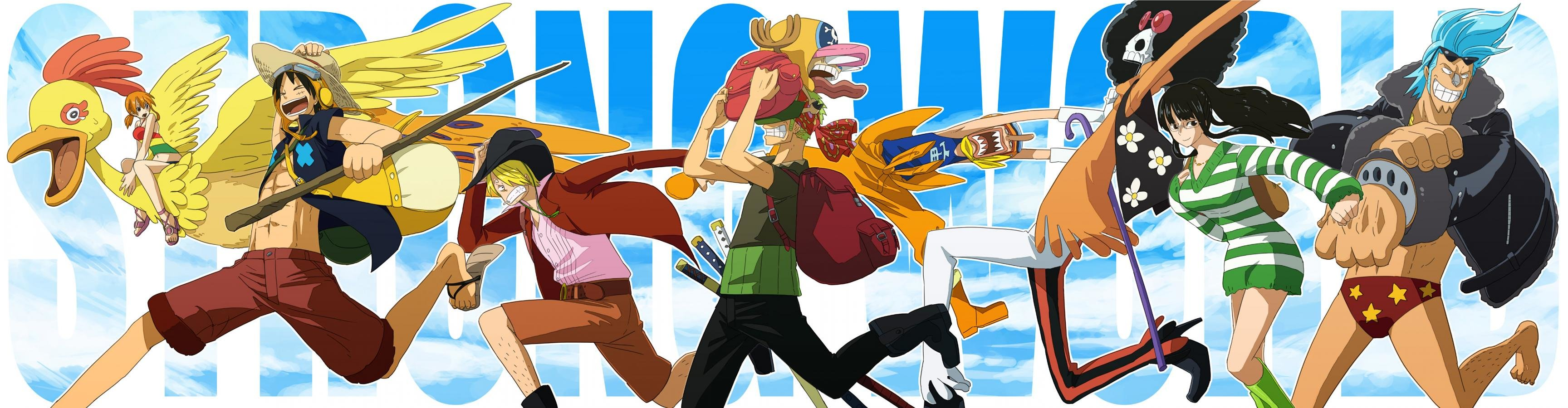 Awesome One Piece free background ID:314746 for triple monitor 3456x900 desktop