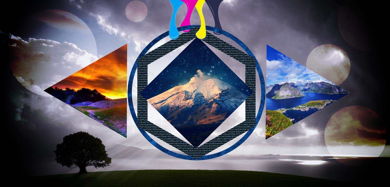 Polyscape Wallpapers Hd For Desktop Backgrounds