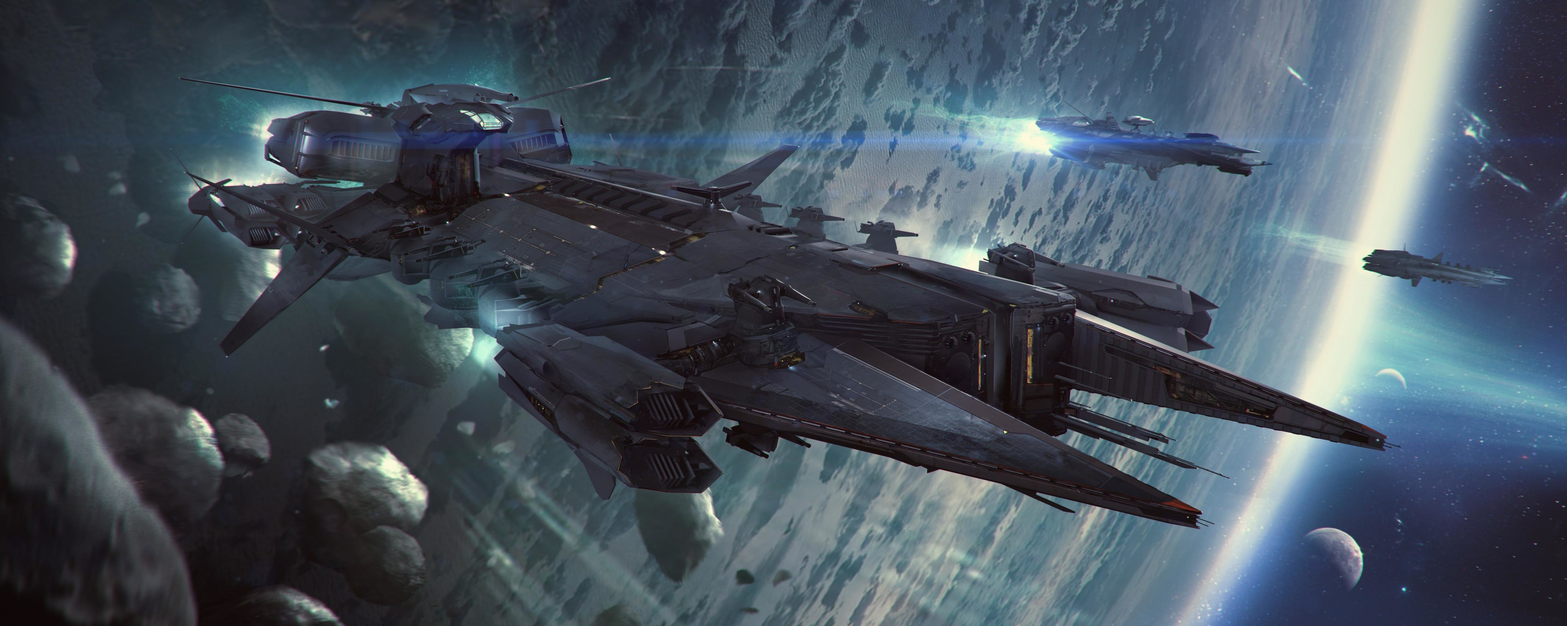 Free Star Citizen High Quality Wallpaper ID244819 For Dual Screen 5120x2048 Computer