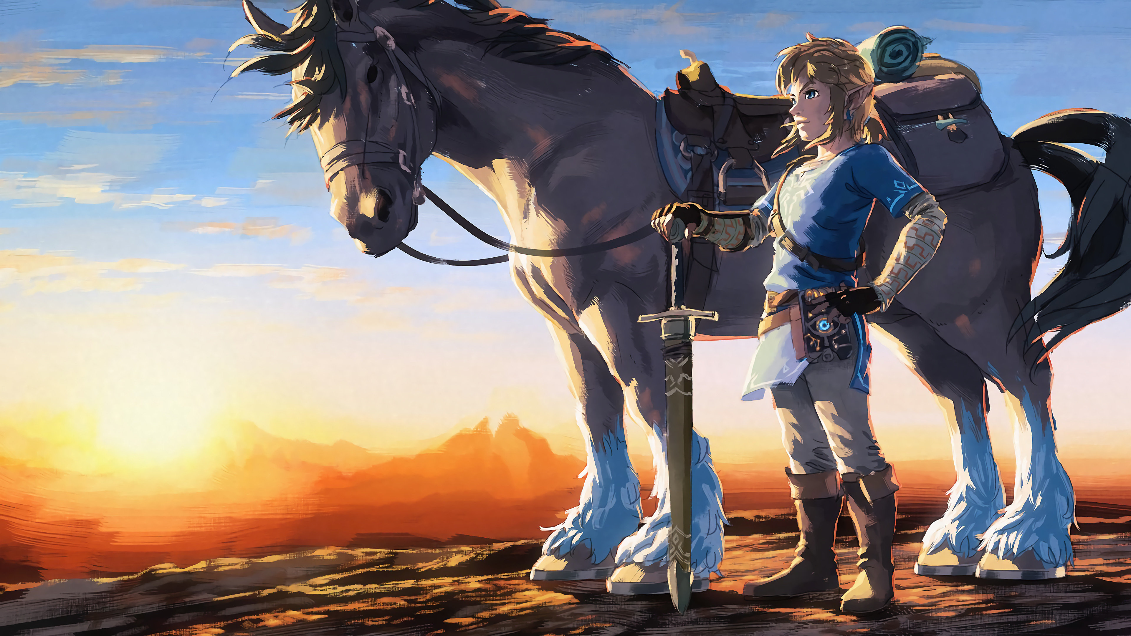 Breath Of The Wild Wallpaper Hd: The Legend Of Zelda: Breath Of The Wild Wallpapers HD For