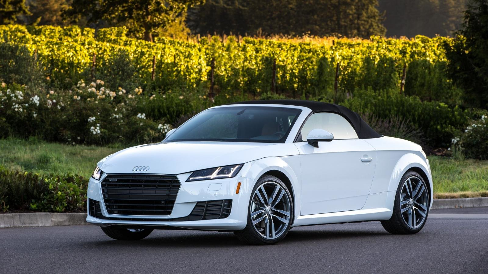 audi tt wallpapers 1600x900 desktop backgrounds