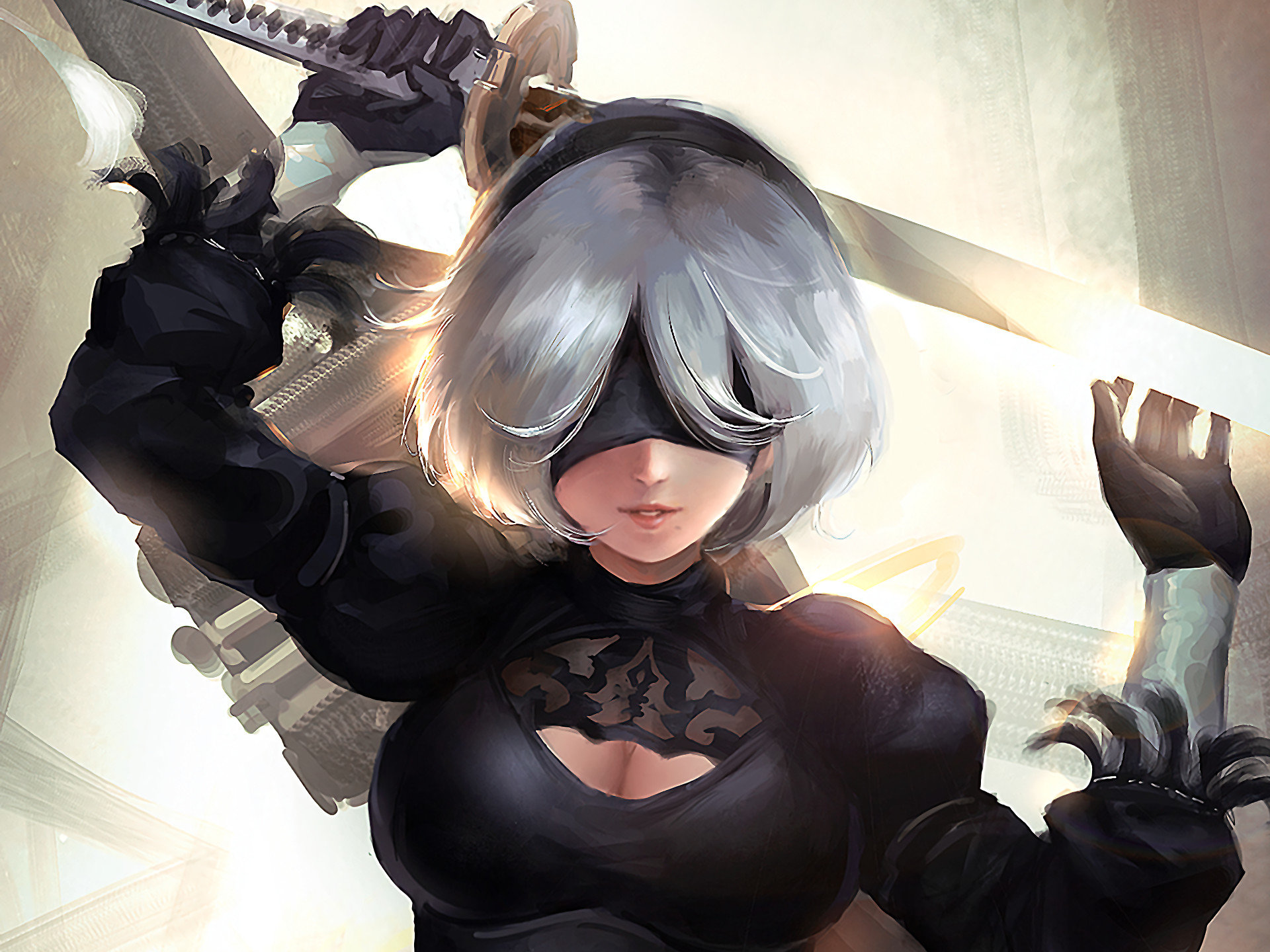 Nier Automata Cosplay Full Hd Wallpaper: NieR: Automata Wallpapers HD For Desktop Backgrounds