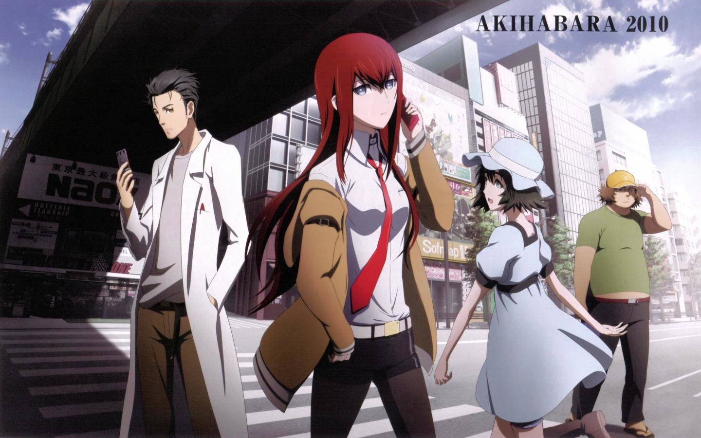 Free download Steins Gate background ID:316080 hd 1440x900 for PC