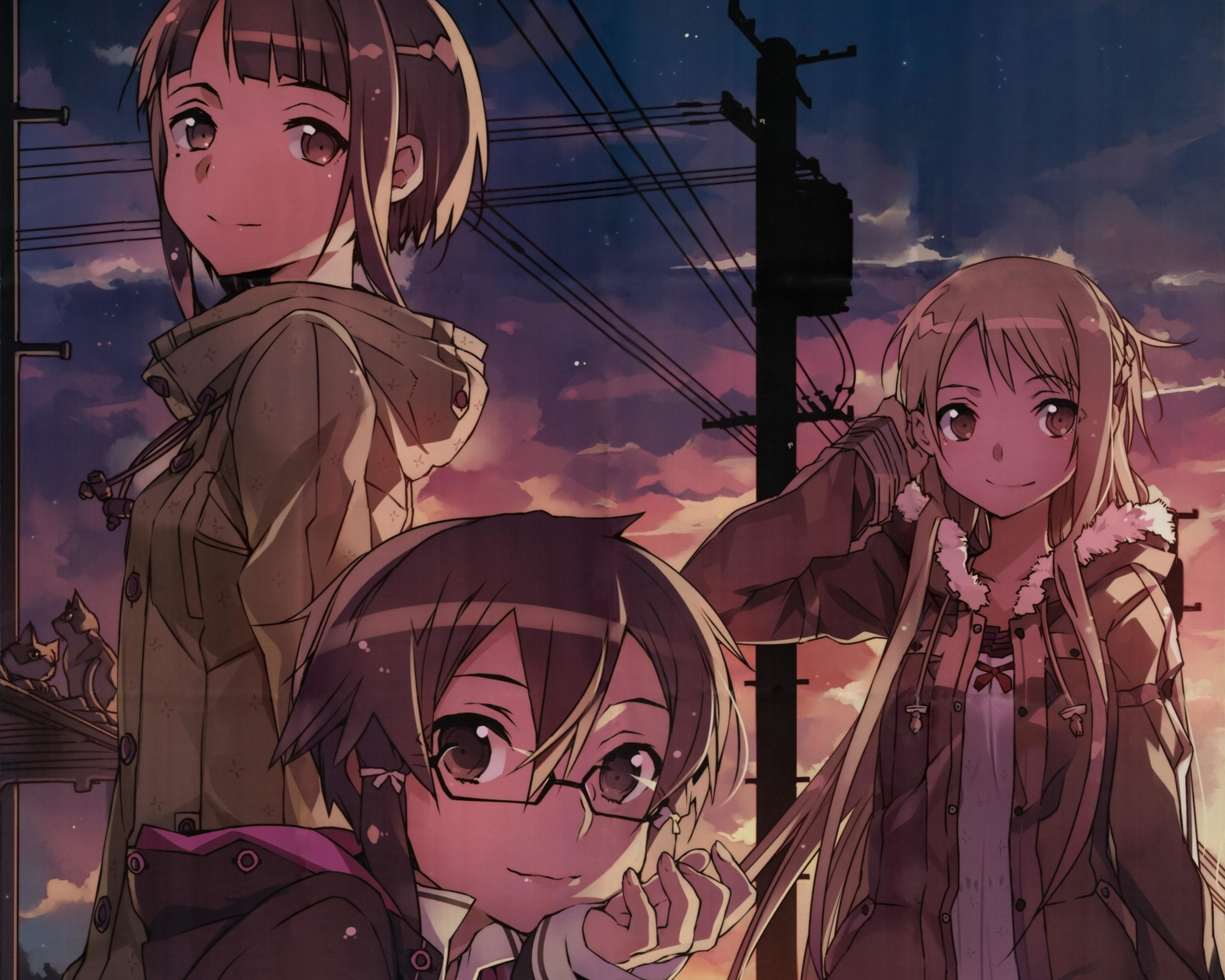 Free download Sword Art Online 2 (II) background ID:112620 hd 5120x4096 for PC