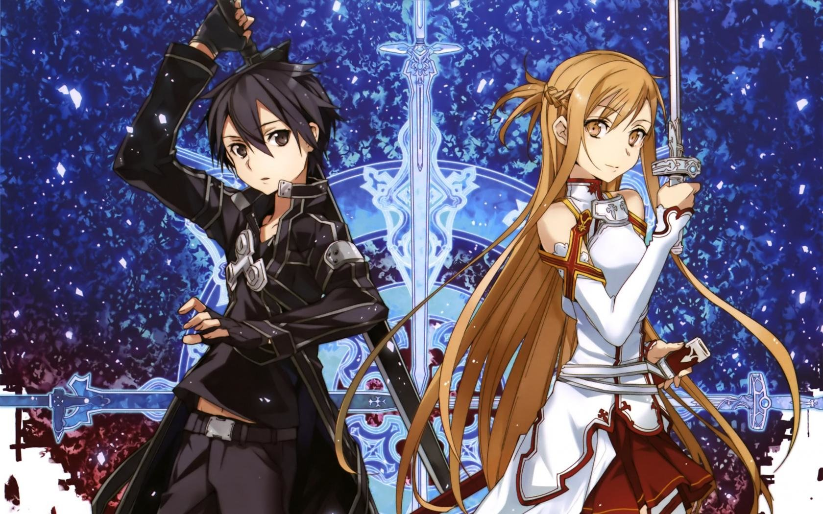 Download hd 1680x1050 Sword Art Online (SAO) desktop wallpaper ID:181241 for free