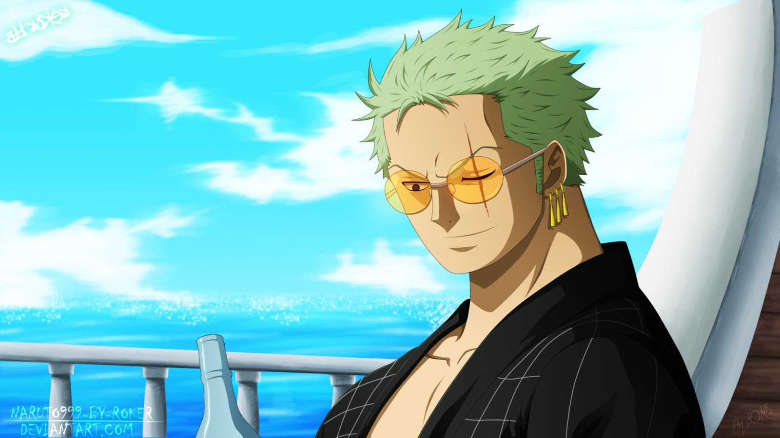 Awesome Zoro Roronoa free wallpaper ID:314867 for hd 1600x900 desktop