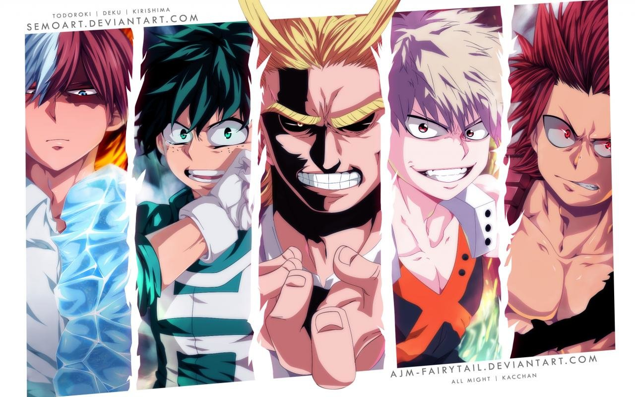 Free download Boku No Hero Academia background ID:192362 hd 1280x800 for PC