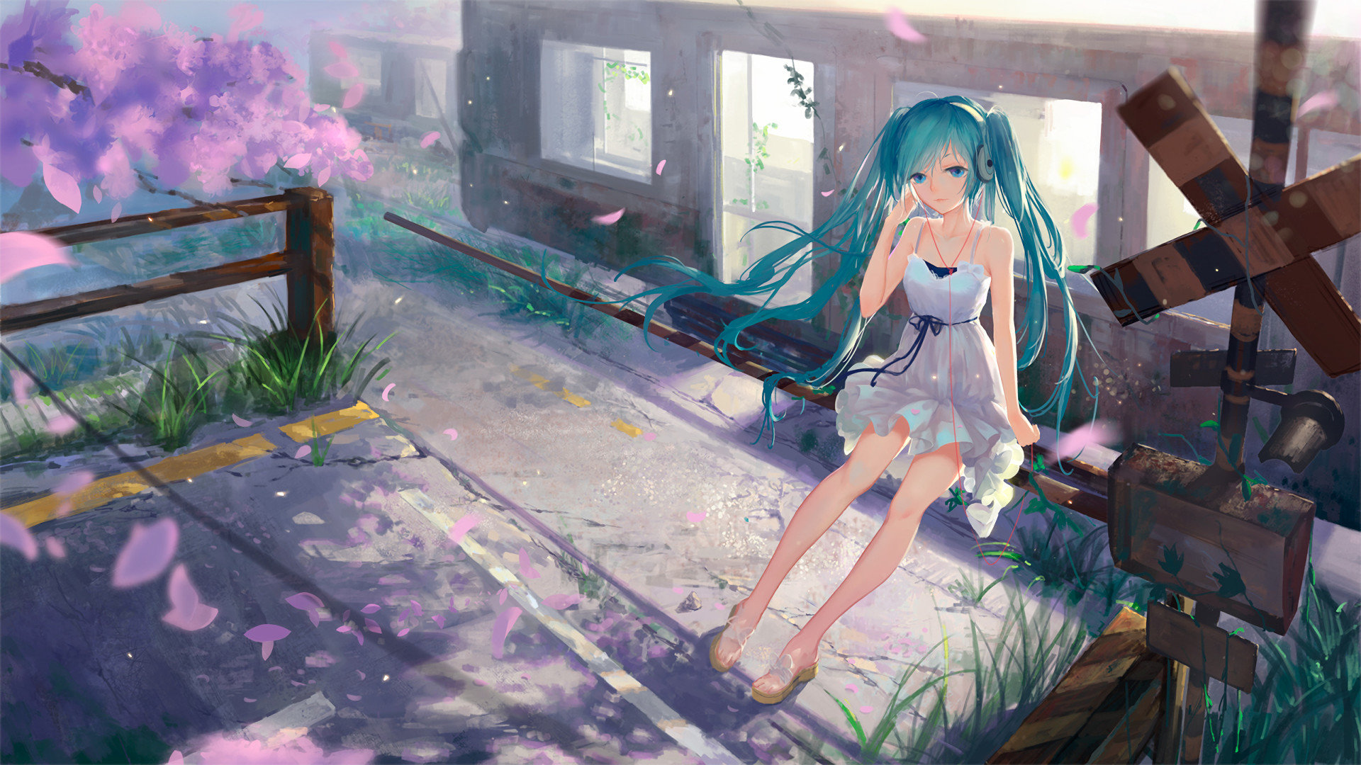 Awesome Hatsune Miku Free Wallpaper Id 1894 For Full Hd 1080p Pc