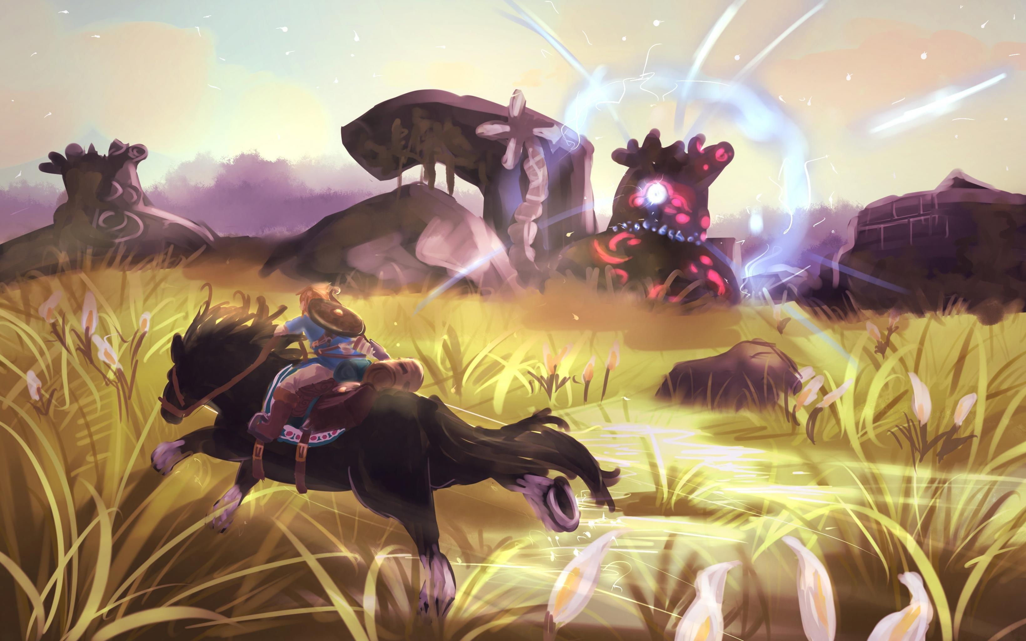High Resolution The Legend Of Zelda Breath Of The Wild Hd