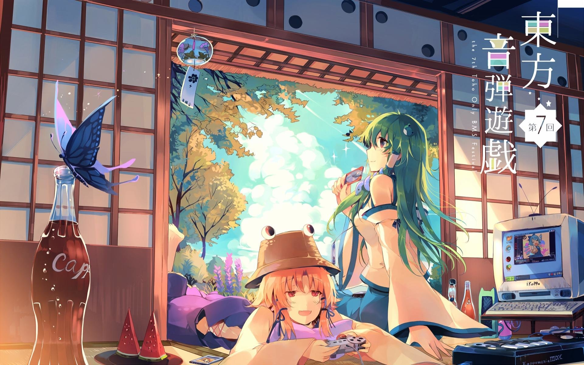 Best Touhou background ID:220435 for High Resolution hd 1920x1200 PC