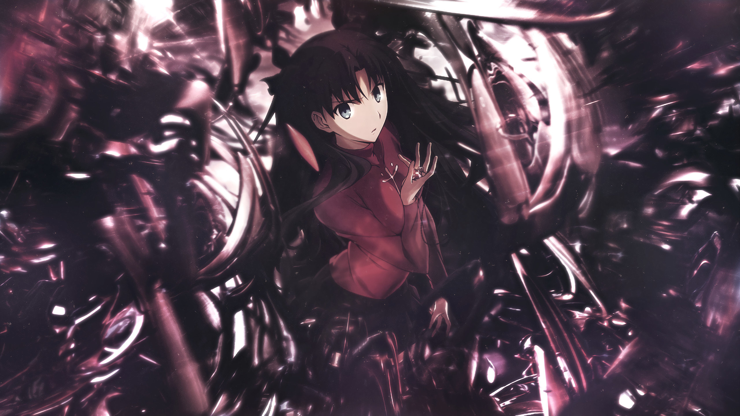Best Rin Tohsaka background ID:468327 for High Resolution hd 2560x1440 PC
