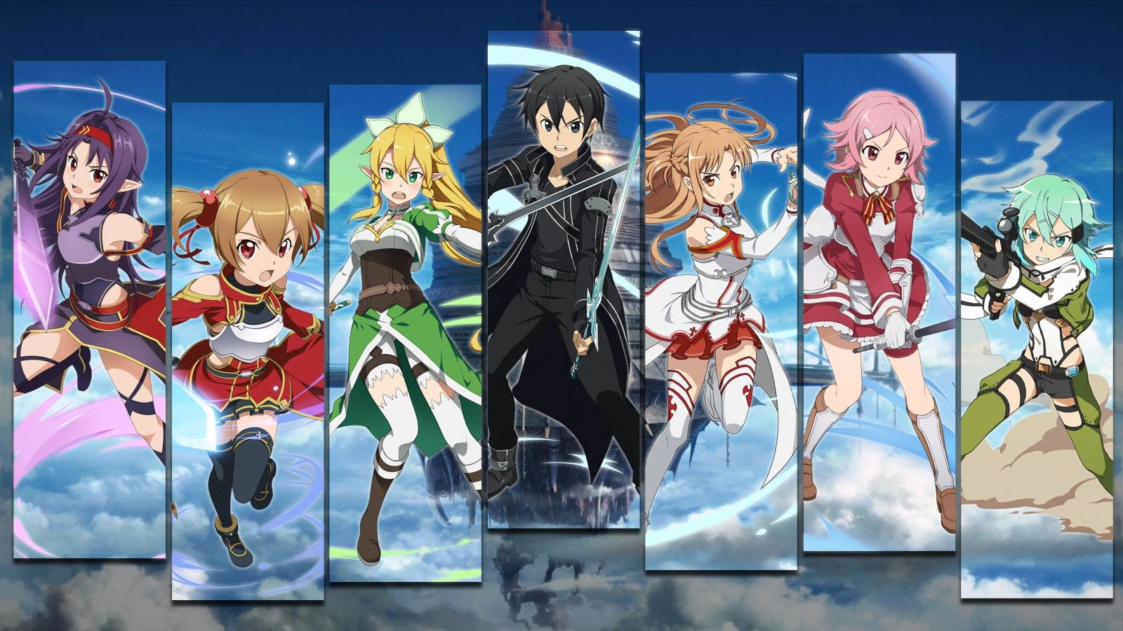 Best Sword Art Online (SAO) wallpaper ID:181503 for High Resolution hd 1600x900 desktop