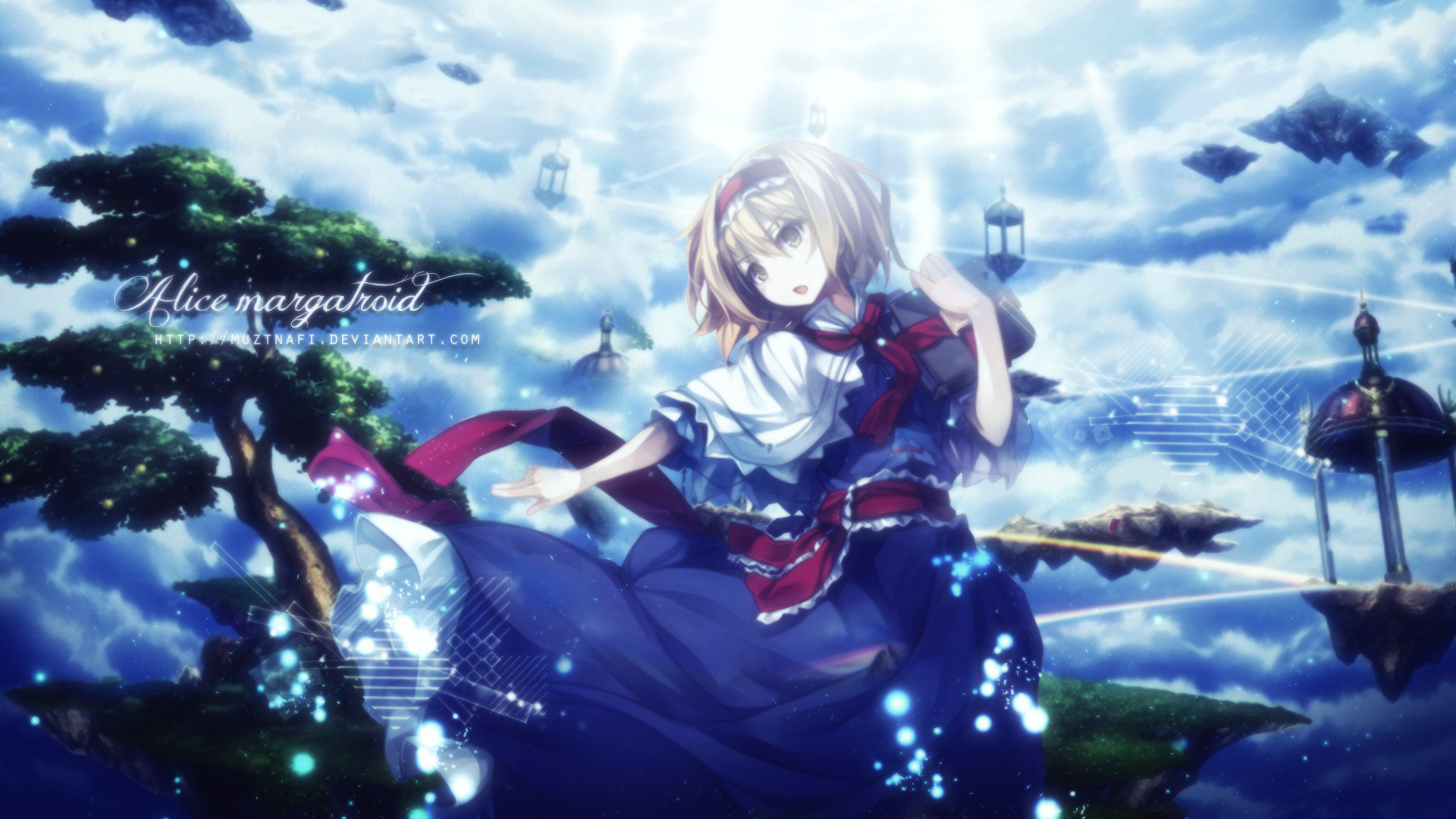 High resolution Alice Margatroid 1080p background ID:221108 for desktop