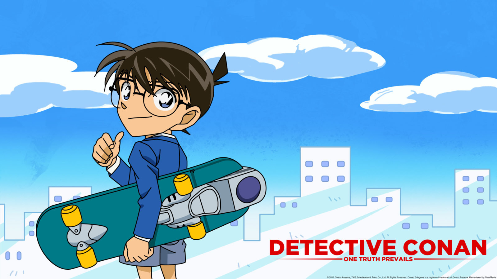 Download hd 1600x900 Detective Conan desktop background ID:457557 for free