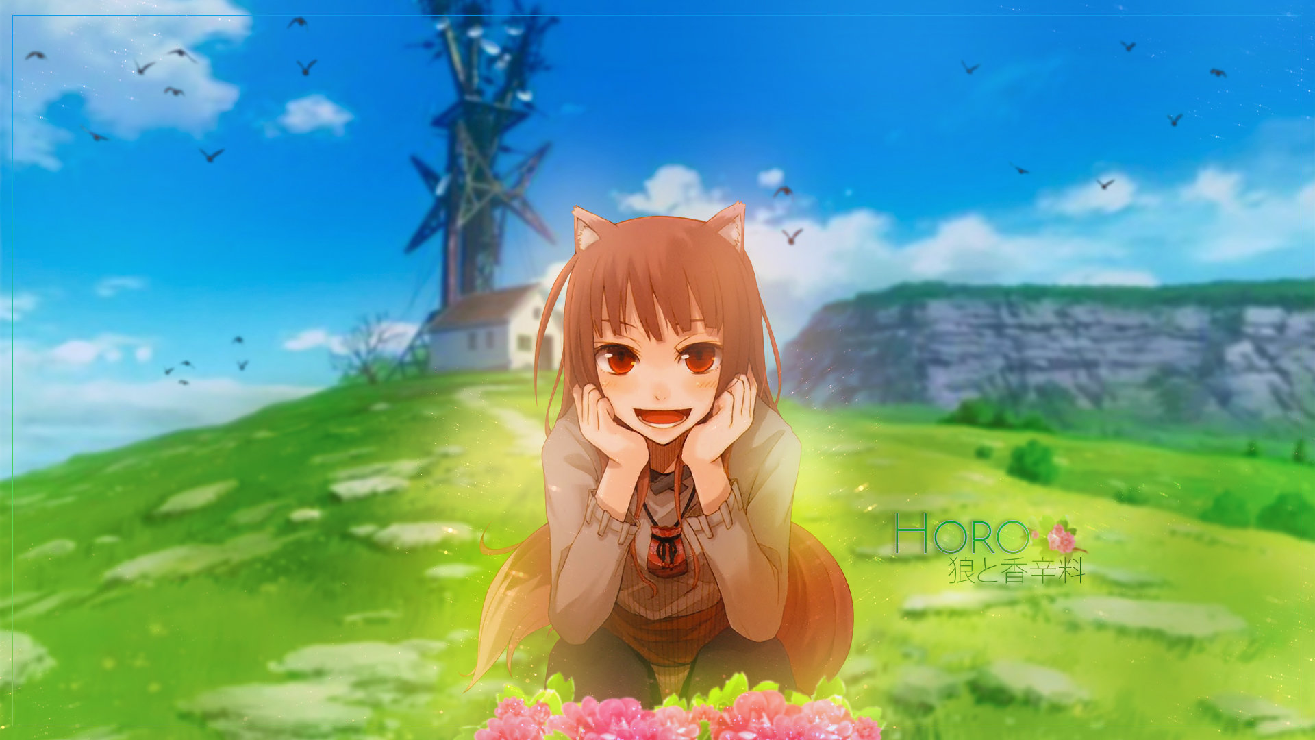 Free download Holo (Spice & Wolf) background ID:399671 full hd 1080p for computer