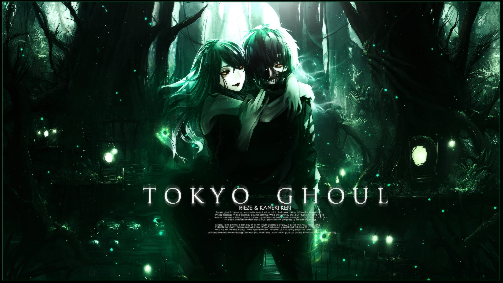 Download 1080p Tokyo Ghoul desktop background ID:150465 for free