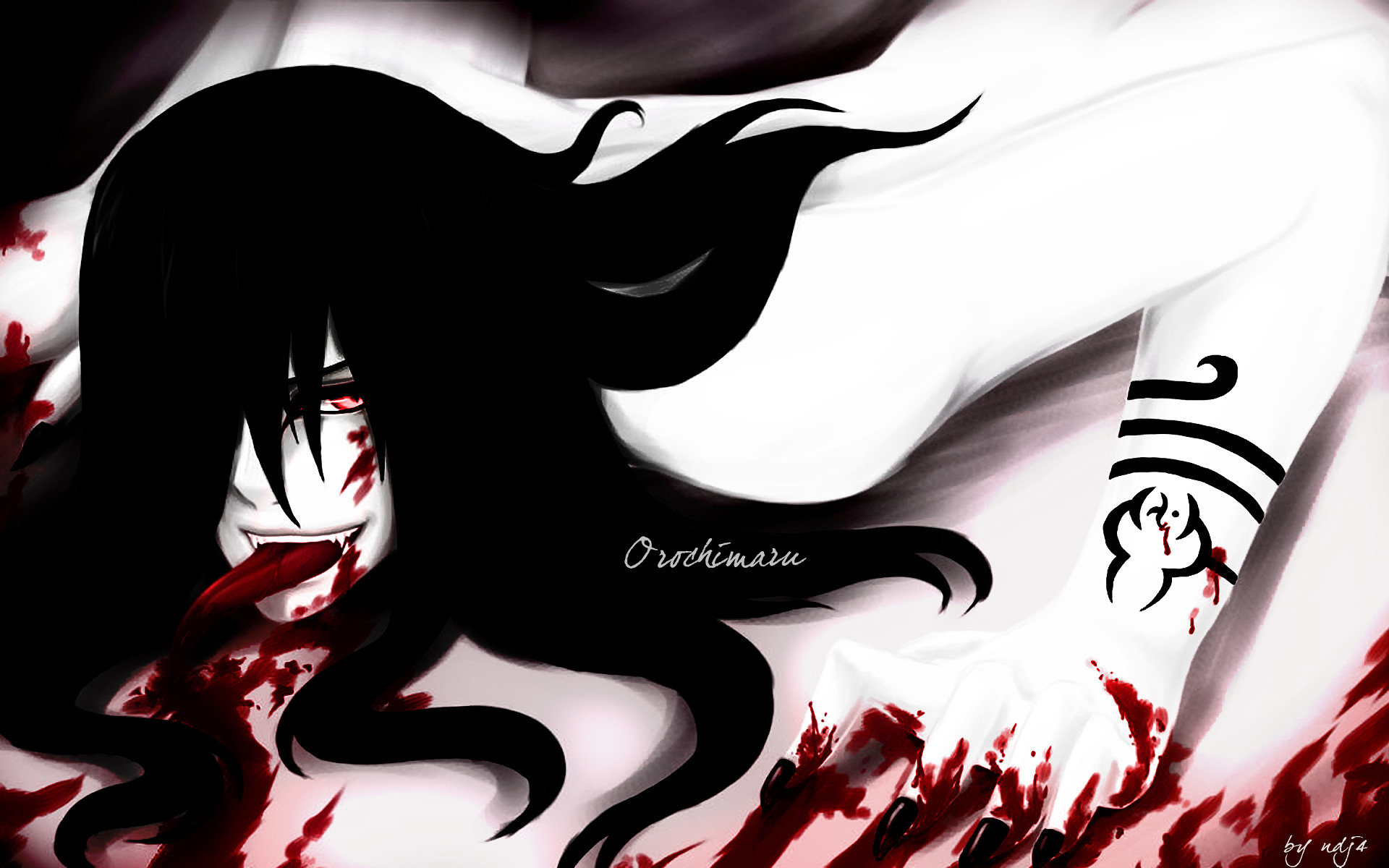 Best Orochimaru (Naruto) background ID:395084 for High Resolution hd 1920x1200 PC