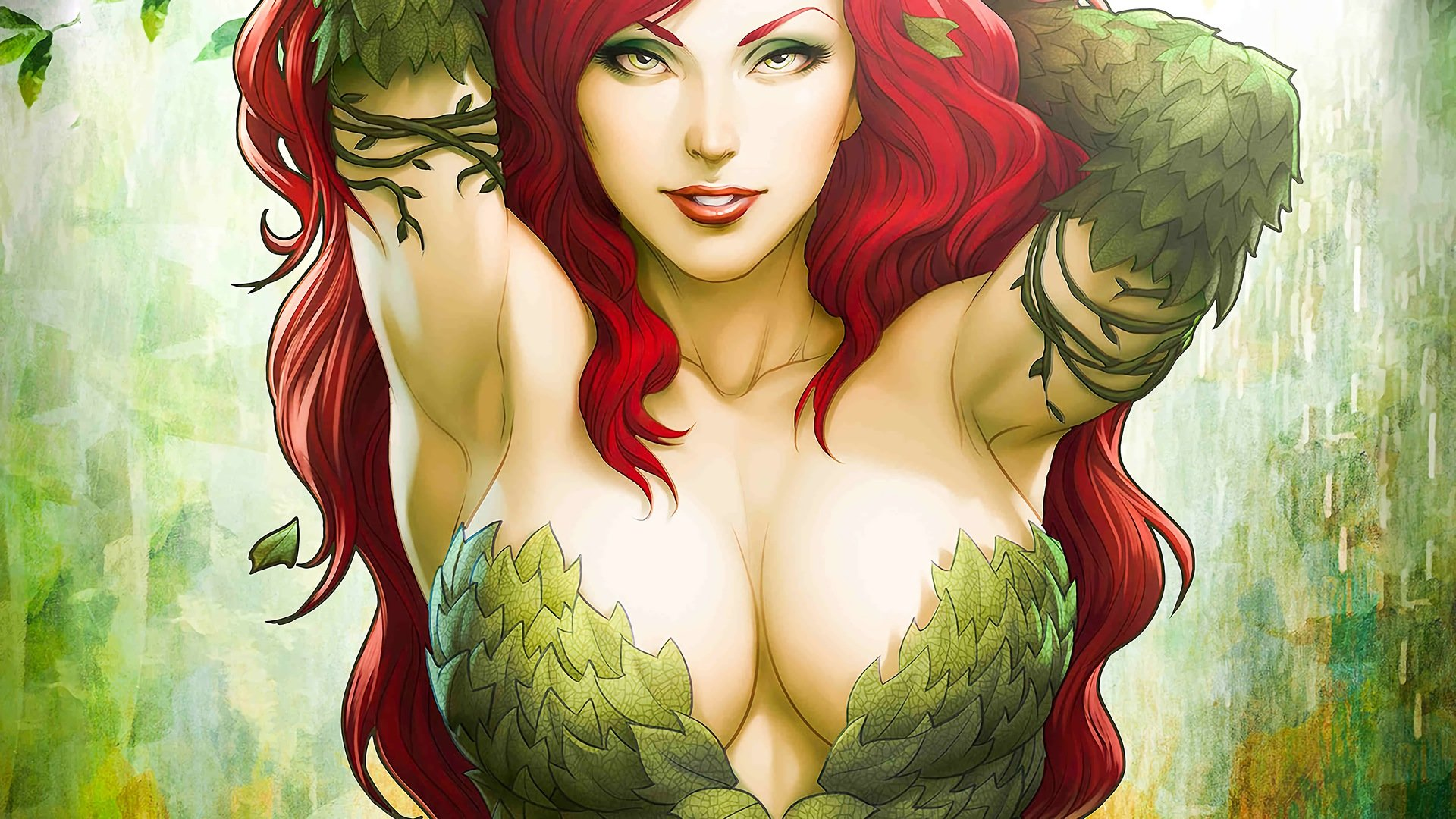 High resolution Poison Ivy hd 1920x1080 background ID:430633 for desktop
