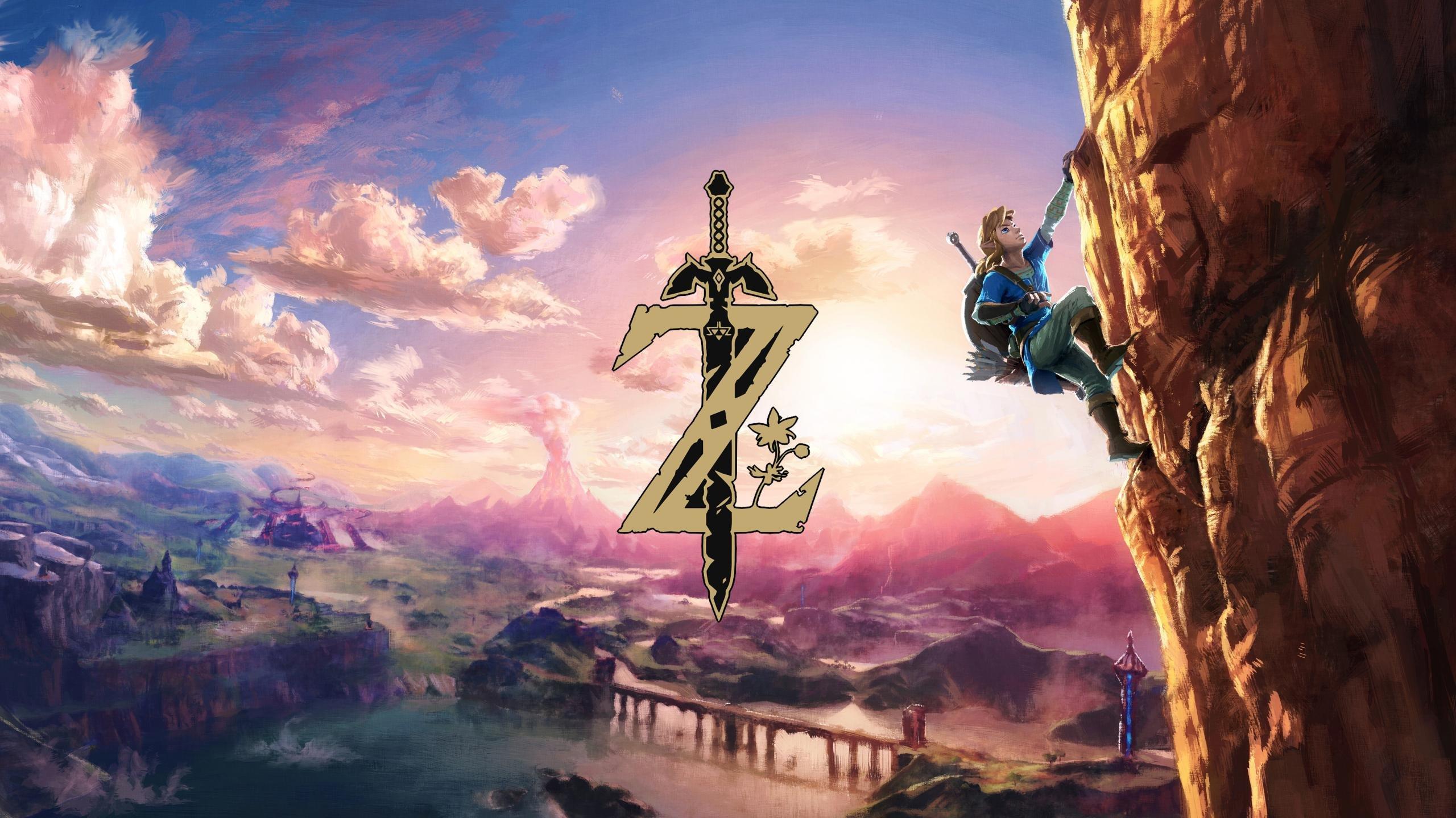 The Legend Of Zelda Wallpapers 2560x1440 Desktop Backgrounds