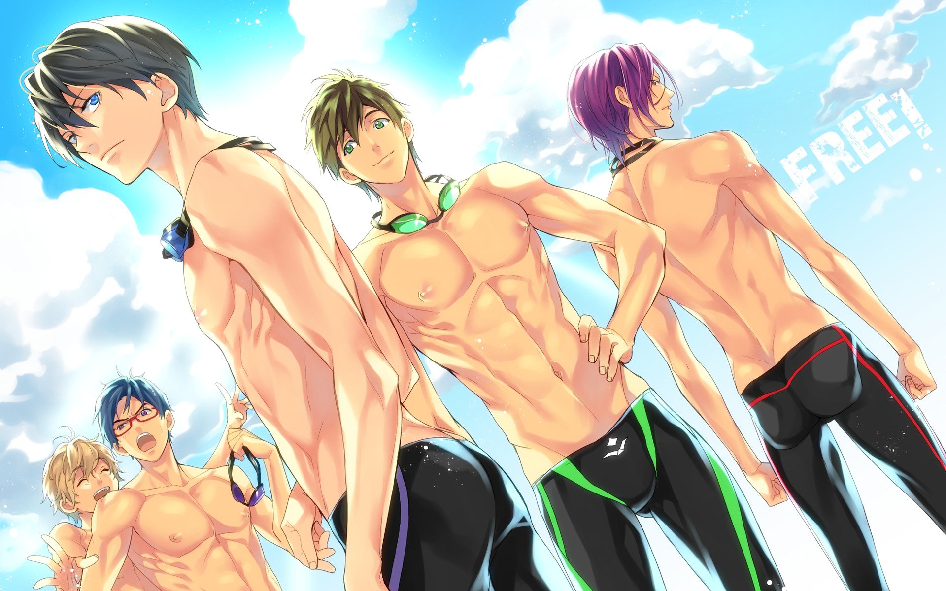 High resolution Free - iwatobi swim club hd 1920x1200 background ID:232000 for computer