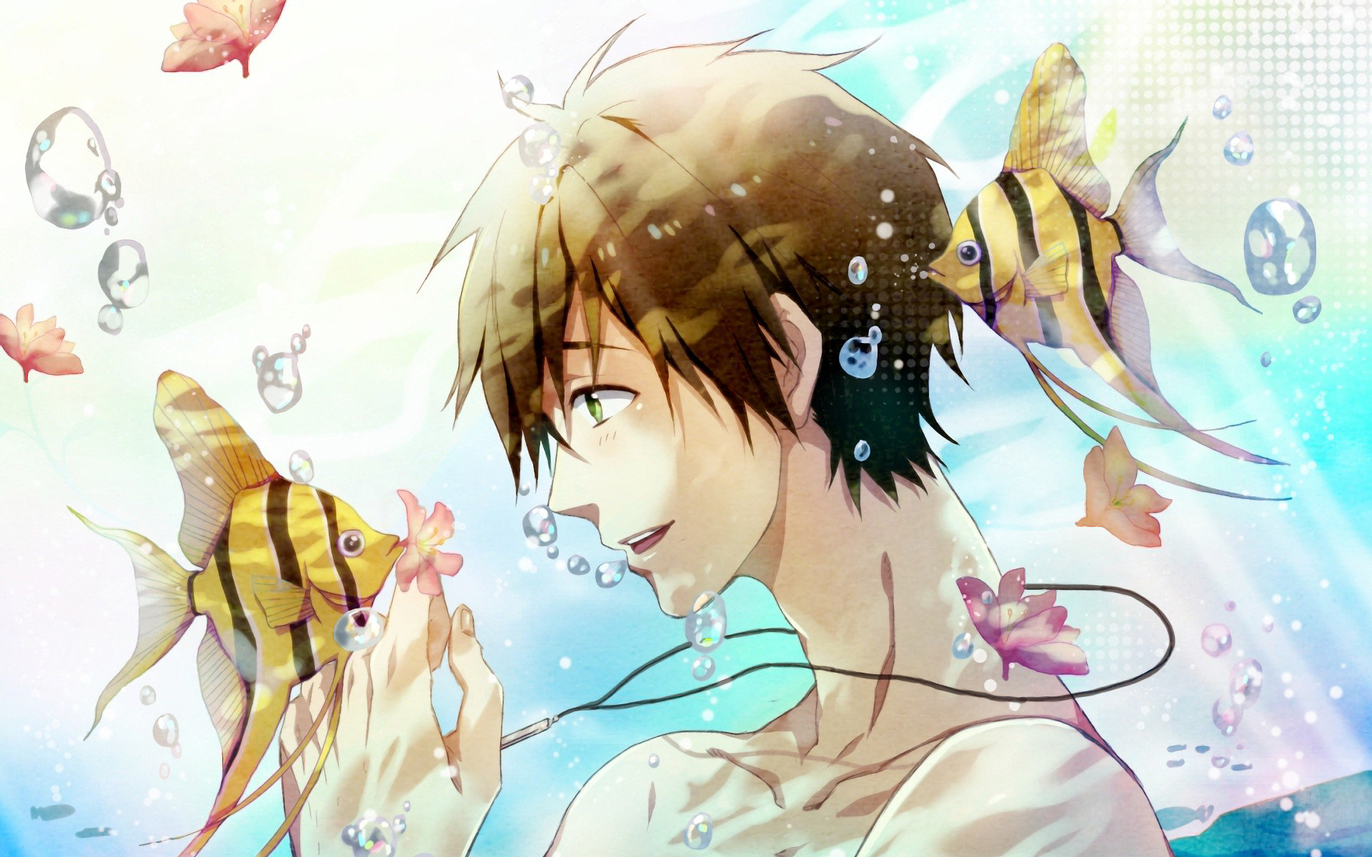 High resolution Free - iwatobi swim club hd 1920x1200 wallpaper ID:231988 for computer