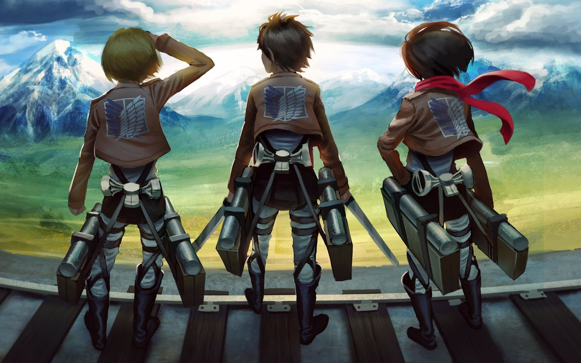 Free download Attack On Titan wallpaper ID:206640 hd 1920x1200 for PC
