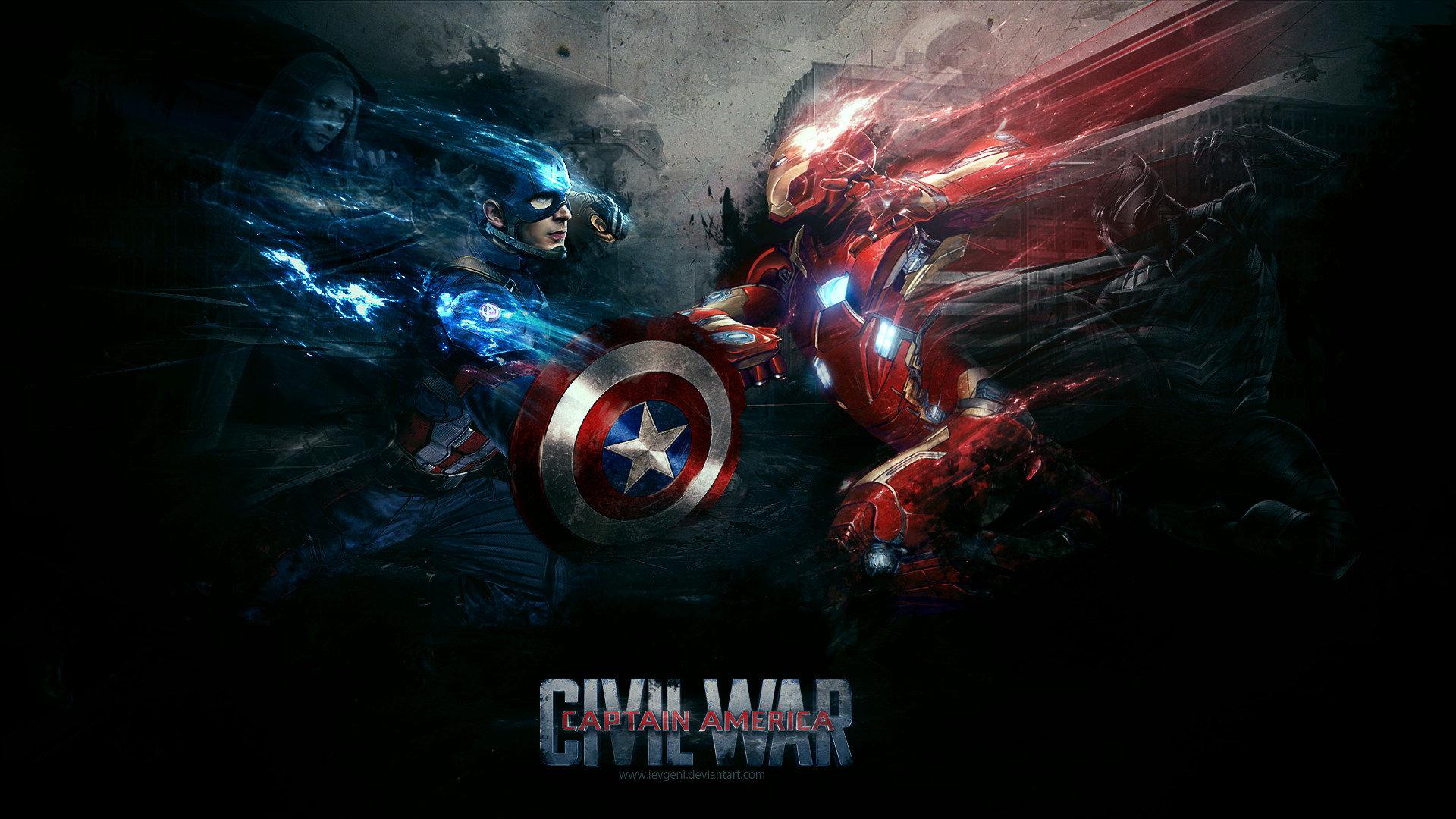 Captain America Civil War Wallpapers Hd: Captain America: Civil War Wallpapers 1920x1080 Full HD