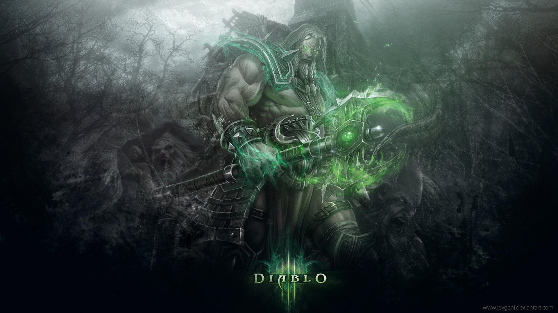 High Resolution Diablo Hd 1920x1080 Wallpaper Id351824 For