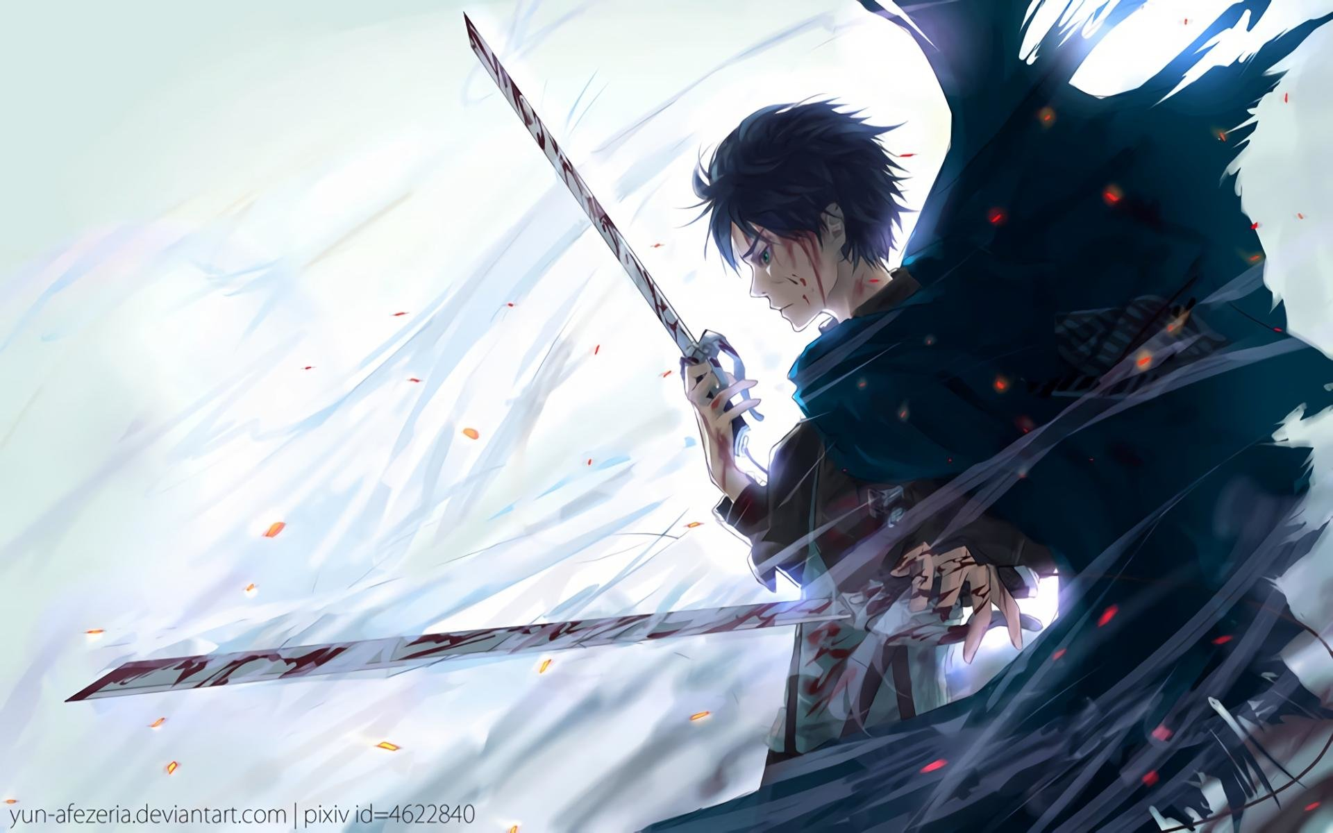 Best Eren Yeager wallpaper ID:206108 for High Resolution hd 1920x1200 desktop
