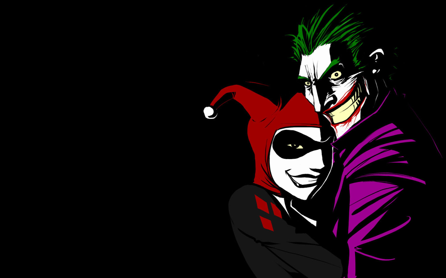 Download hd 1440x900 Joker computer wallpaper ID:131180 for free
