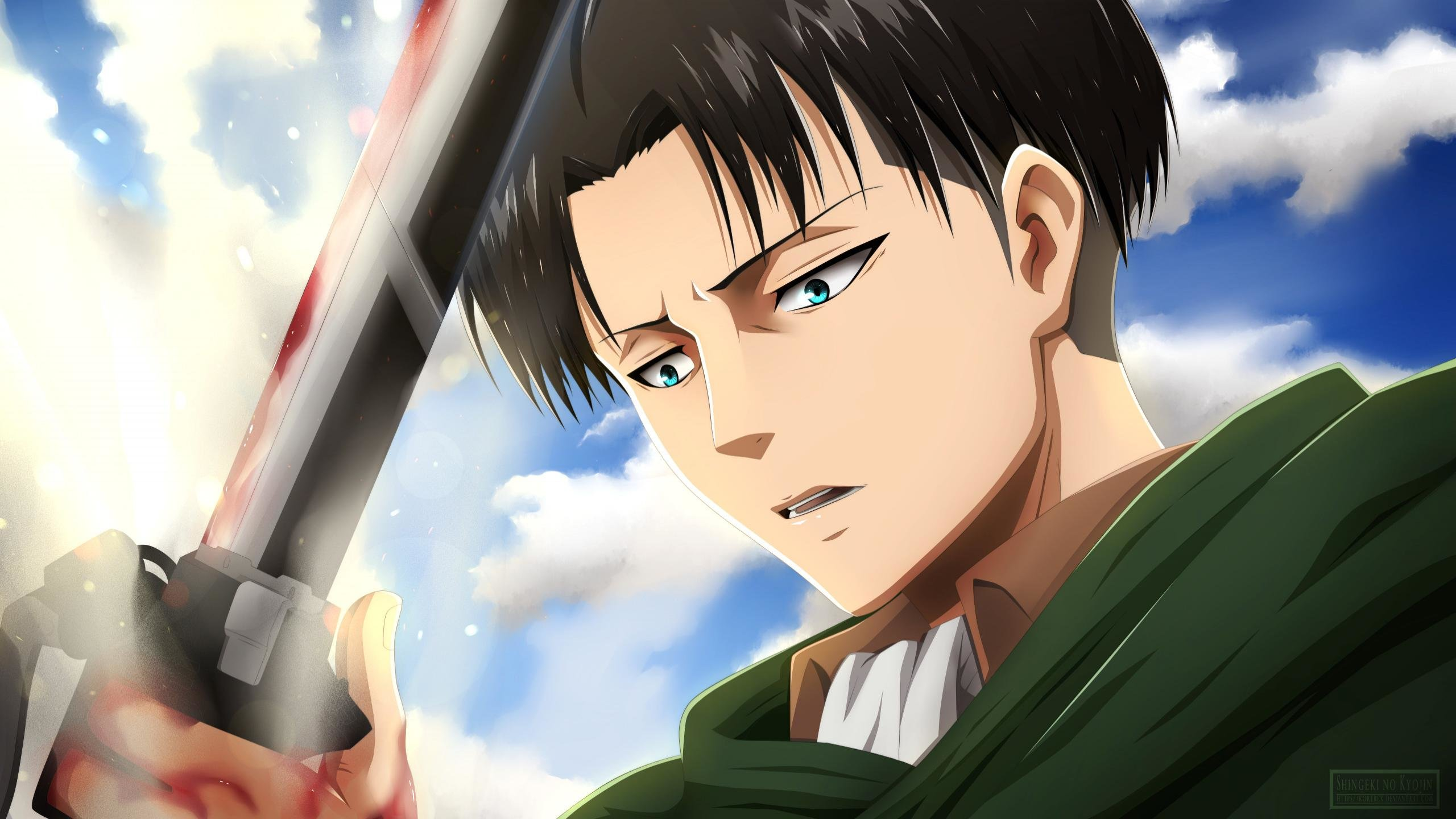 Levi Ackerman Wallpapers 2560x1440 Desktop Backgrounds
