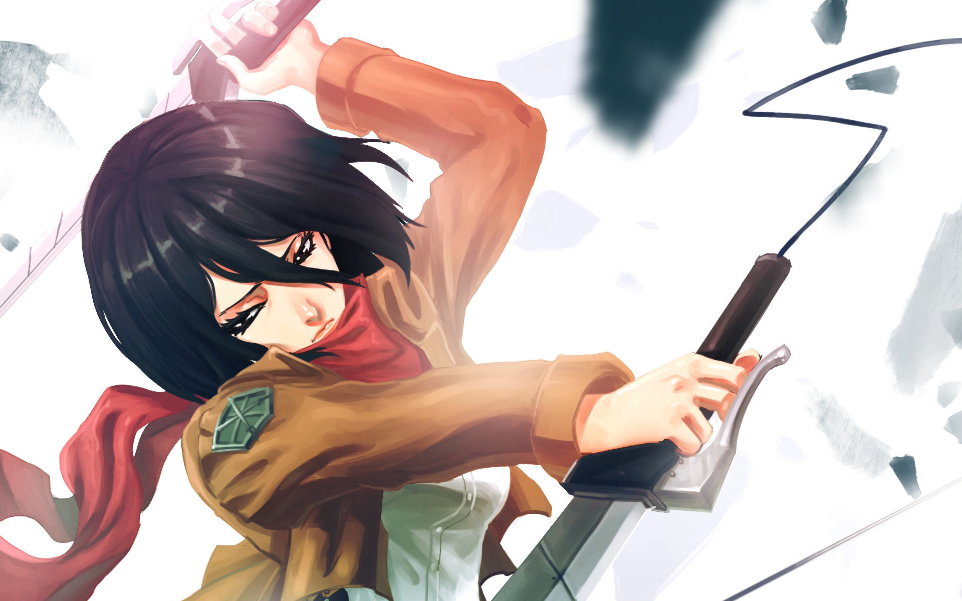 Awesome Mikasa Ackerman free background ID:206736 for hd 1920x1200 computer