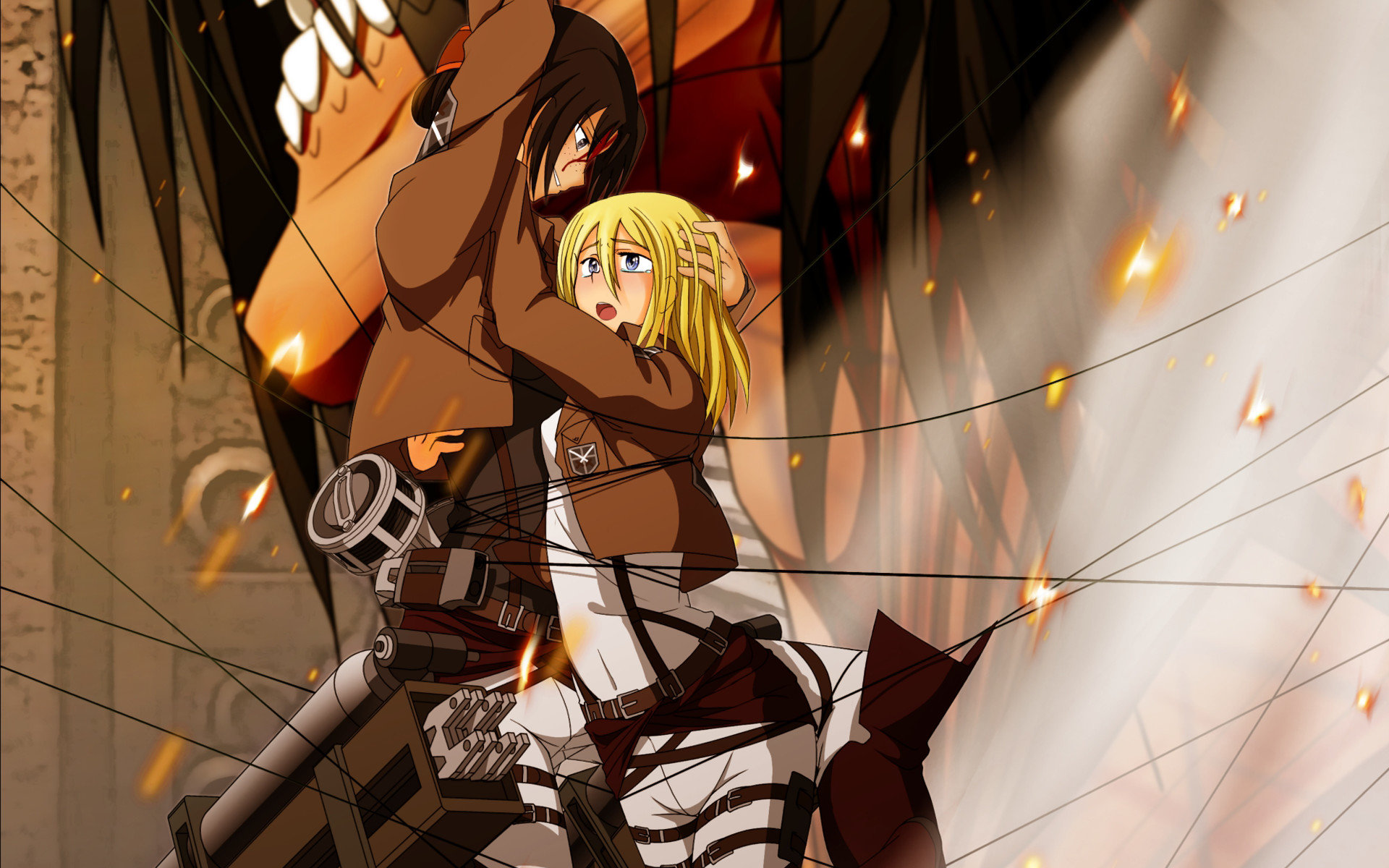Awesome Ymir (Attack On Titan) free background ID:206766 for hd 1920x1200 desktop