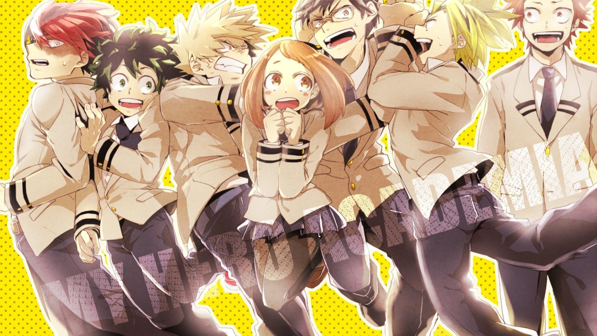 Cute Wallpapers Anime My Hero Academia